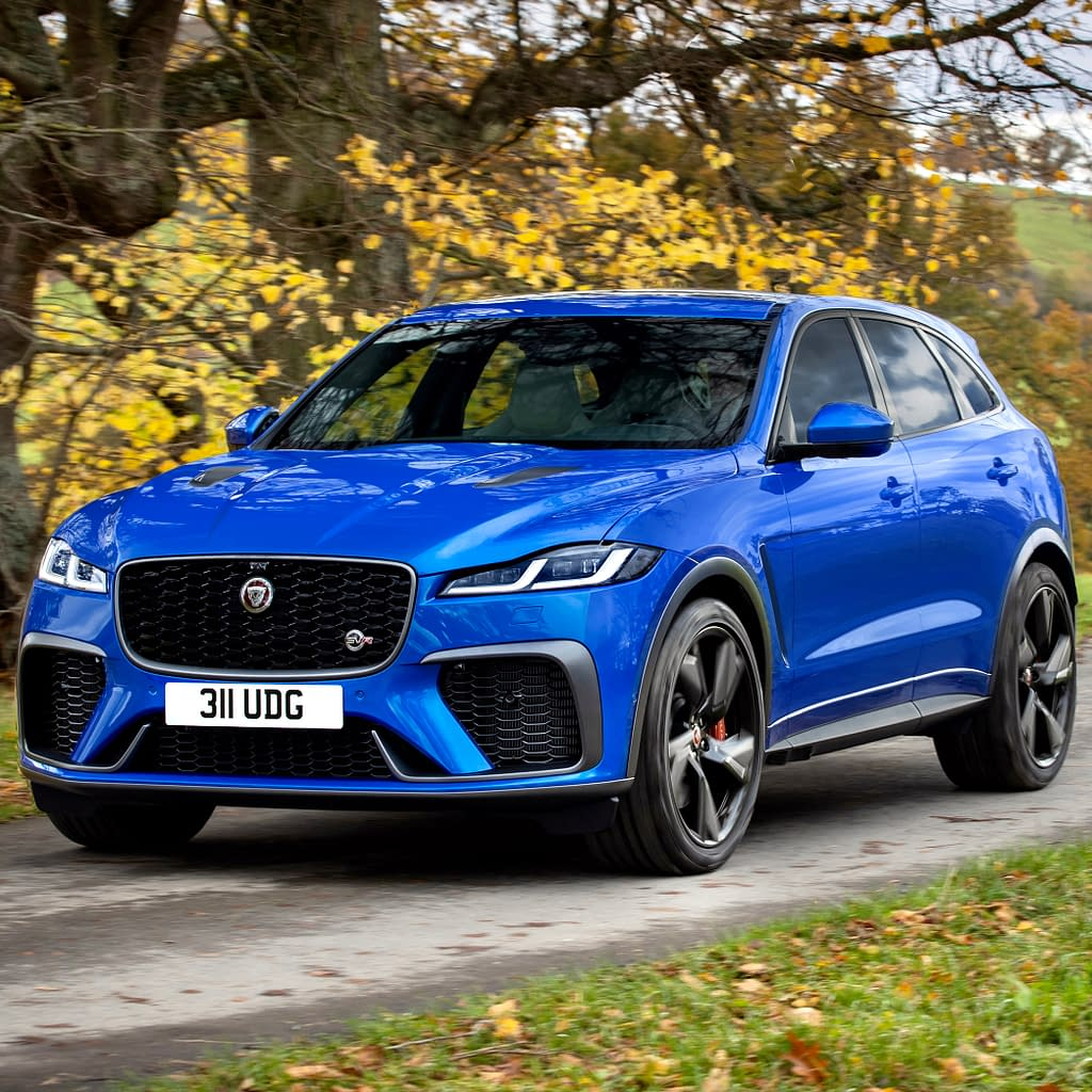 2021 Jaguar F-Pace SVR is Faster & Meaner Than Before • Hype Garage