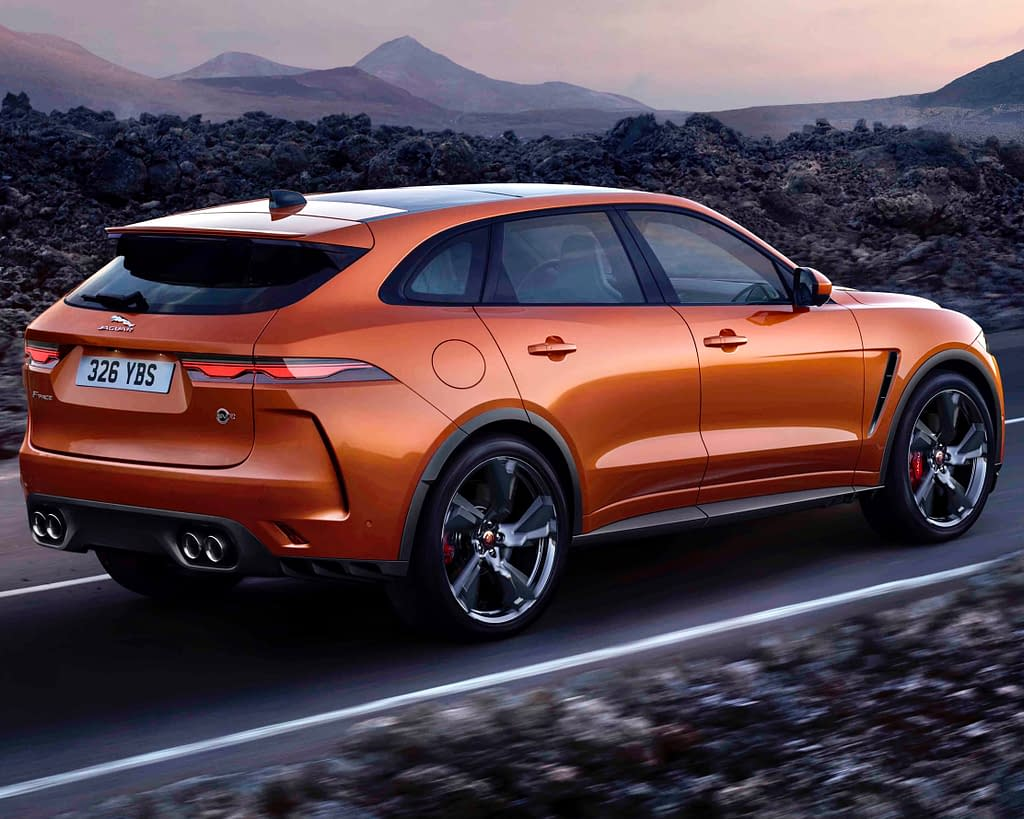 2021 jaguar f-pace svr is faster & meaner than before